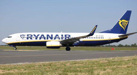 Ryanair tuži Veliku Britaniju zbog restriktivnih mjera za putovanja