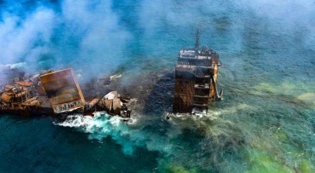 Pronađena crna kutija broda s kemikalijama koji tone kod Šri Lanke