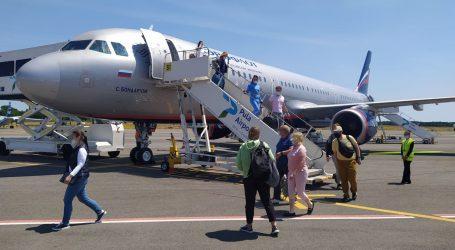 U pulsku zračnu luku sletio zrakoplov iz Moskve sa 147 putnika