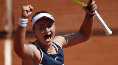 Čehinja Barbora Krejčikova osvojila Roland Garros