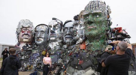 Skulptura od e-otpada upozorava čelnike G7 na potrebu za recikliranjem