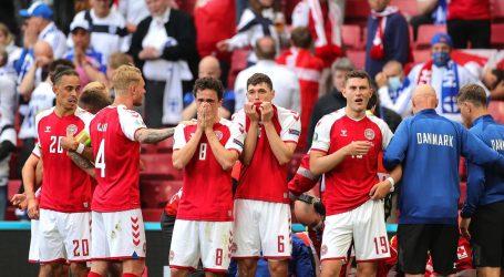 Utakmica Danske i Finske se nastavlja, susret između Belgije i Rusije u planiranom terminu
