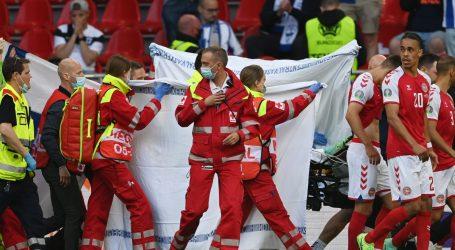 """Eriksen je u bolnici u stabilnom stanju, razgovarao je sa svojim suigračima: """"Dobro je!"""""""