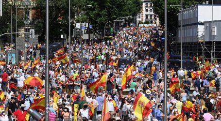 Madrid: Tisuće prosvjeduju protiv pomilovanja katalonskih separatista