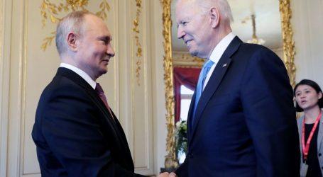 Počeo povijesni sastanak Putina i Bidena. Trajat će oko pet sati