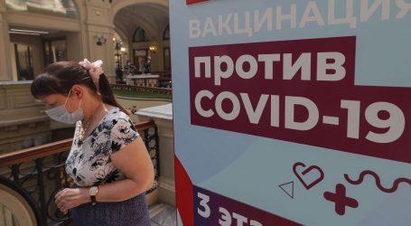 Rusija bilježi više od 20 tisuća novih slučajeva, umrlo više od 550 ljudi