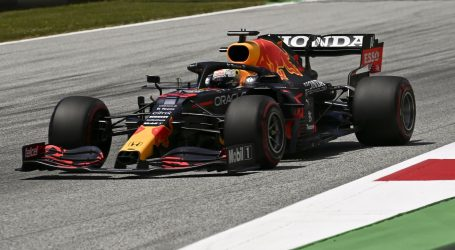 Maxu Verstappenu 'pole position' na VN Štajerske