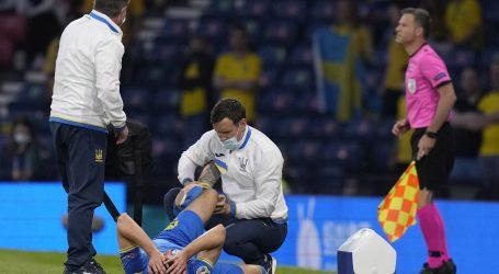 Za ukrajinskog napadača Besedina EURO je zbog ozljede završen
