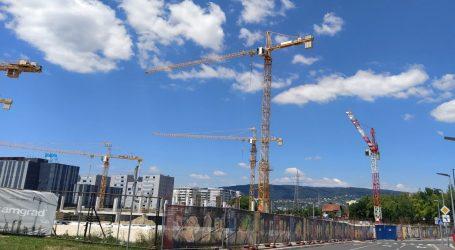 Obujam građevinskih radova u travnju gotovo 20 posto veći nego lani