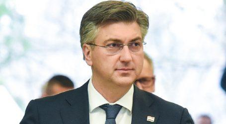 """Plenković: """"Milanović radi protiv zakona"""""""