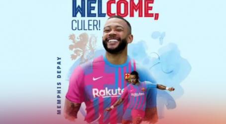 Memphis Depay novi igrač Barcelone