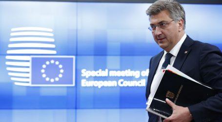 Drugi dan samita u Bruxellesu: Plenković očekuje ulazak u eurozonu početkom 2023.