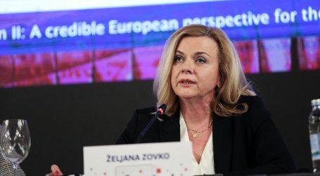 HDZ-ova eurozastupnica Željana Zovko optužila europarlament da provodi politiku sličnu Miloševićevoj