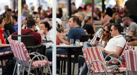 Nove mjere: Kafići će od utorka raditi do ponoći, ali i dalje samo na terasama