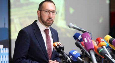 """Tomašević zakasnio na primopredaju: """"Hvala gospođi, to je duh koji krasi Zagreb"""""""