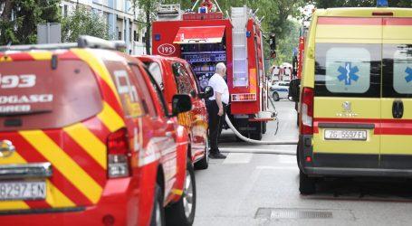 Objavljeni detalji požara u Trnskom: Četiri su osobe lakše ozlijeđene