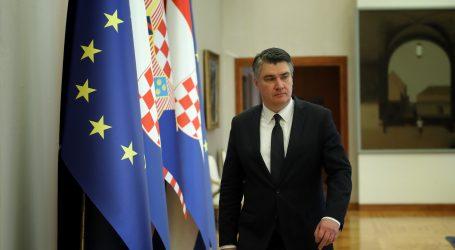 """Milanović: """"Kad Plenković kritizira medije, on može dovesti koncesiju u pitanje, a ja kao predsjednik ne mogu"""""""