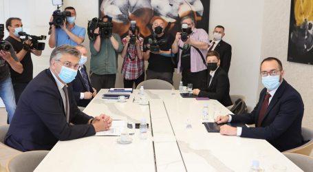"""Tomašević nakon sastanka s premijerom: """"Očekujem novu eru odnosa, bit ćemo pravi partner"""""""