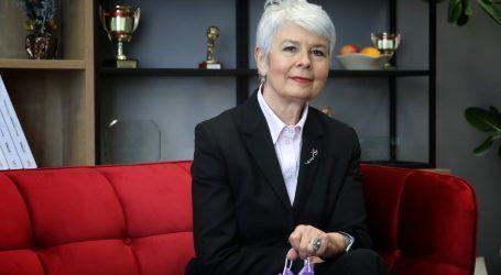 """Jadranka Kosor: """"Bilo bi sjajno imati Zlatu Đurđević na čelu Vrhovnog suda. Ona je svjetionik u mraku, zastupnice bi je trebale podržati"""""""