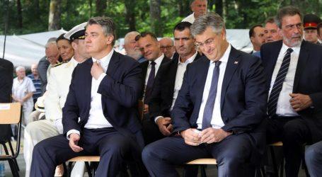 """Milanović Plenkoviću i ministrima u Brezovici: """"Di ste, partizani?"""""""
