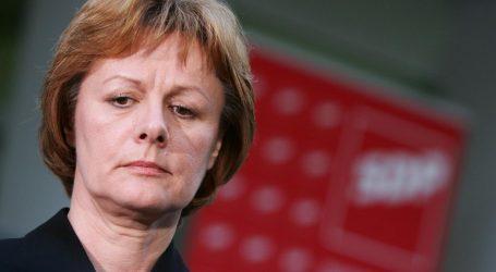 """Željka Antunović istupila iz SDP-a: """"Uvrijeđena sam, i sram me je…"""""""