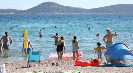 U Hrvatskoj 400 tisuća gostiju, 56 posto od istog razdoblja 2019.