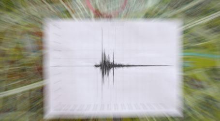 Na šibenskom području zabilježen potres 2,6 Richtera