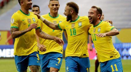 Copa America: Brazil na krilima Neymara nadigrao Peru, Kolumbija i Venezuela bez golova