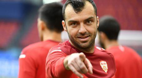 Kapetan nogometne reprezentacije Sjeverne Makedonije Goran Pandev oprašta se od reprezentacije nakon EP-a