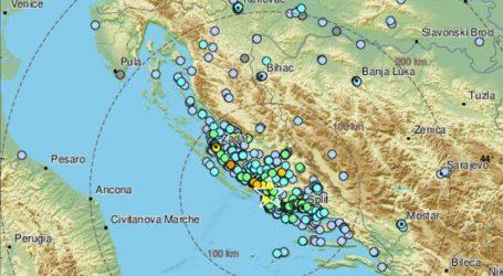 Potres magnitude 4.7 po Richteru pogodio područje Šibenika, odlomio se komad stijene i pao na automobil