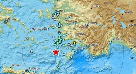 Grčke otoke Dodekaneze pogodio potres magnitude 5.7