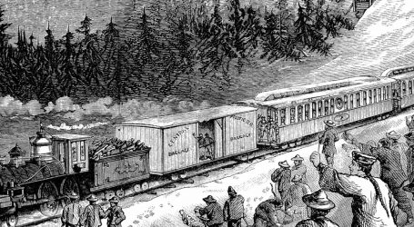 Prva američka transkontinentalna vožnja vlakom trajala je tri i pol dana, bio je to sjajan uspjeh