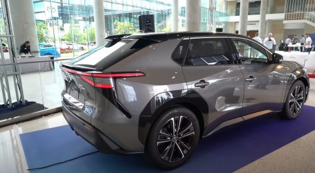 Model bZ4X je perjanica modernih električnih vozila Toyote