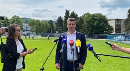 """Predsjednik Milanović: """"Nećemo dati suglasnost na deklaraciju NATO jer nas se tretira kao sitan kusur"""""""
