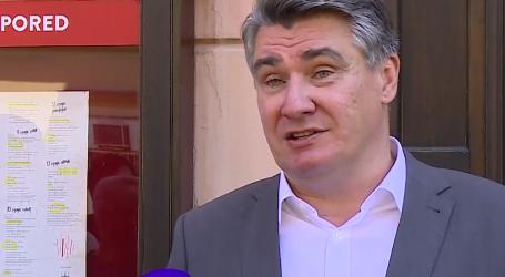 """Milanović: """"Imamo krizu legitimiteta. Osoba koja će sada krpati mjesto predsjednika Vrhovnog suda nema nikakav legitimitet. To je kao klozet frau"""""""