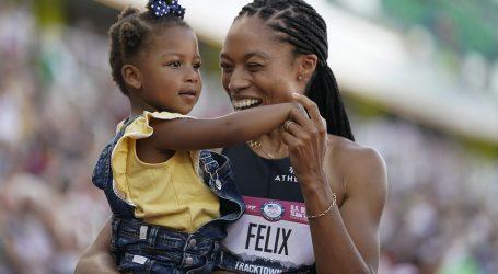 Allyson Felix se kvalificirala na svoje pete Olimpijske igre, u Tokio ide po desetu medalju