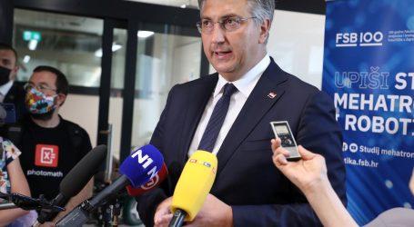 """Plenković: """"To što radi Milanović nije normalno. Njegove izjave su besramne, krive i loše"""""""