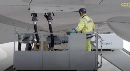 Njemački teretni zrakoplov leti uz nultu stopu emisije ugljika