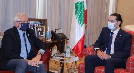 """Visoki povjerenik EU-a Borrell libanonskim političarima: """"Dogovorite se, provedite reforme ili snosite sankcije"""""""