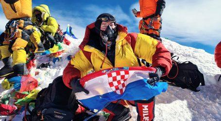 Zagrepčanin Mario Celinić je šesti Hrvat koji je osvojio Mount Everest