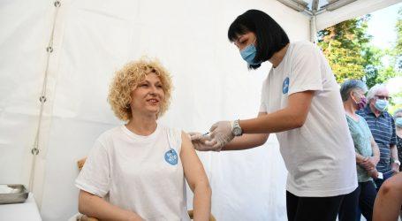 """U Bjelovaru na Terezijani veliki odaziv na cijepljenje. """"Ipak, teško ćemo doseći 50 posto cijepljenih odraslih građana do kraja lipnja"""""""