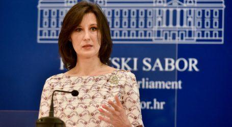 """Dalija Orešković o glasovanju za rebalans proračuna: """"Uvjerena sam da je Čačić shvatio 'suptilnu' poruku"""""""