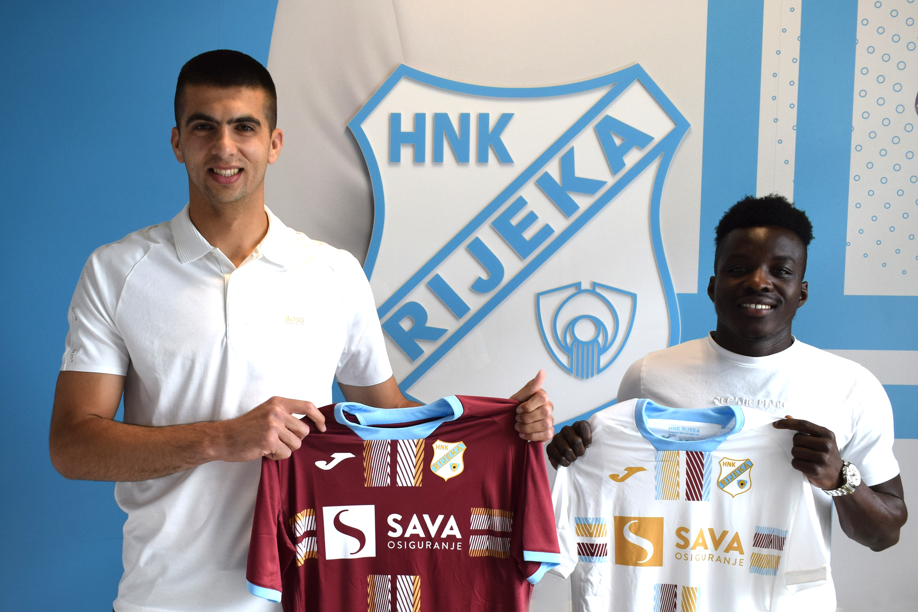Watch Prince Obeng Ampem's first interview after completing a move from HNK Sibenik to HNK Rijeka