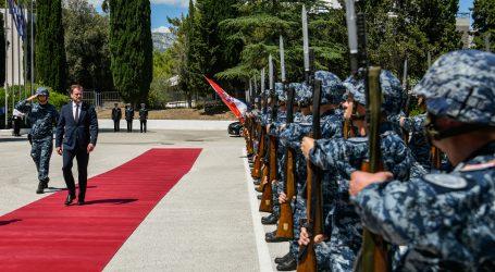 Ministar Banožić posjetio Hrvatsku ratnu mornaricu