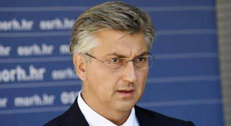 """Plenković obećao brzu pomoć Požeško-slavonskoj županiji nakon elementarne nepogode: """"Iskusni smo i imamo proračunske zalihe""""s"""