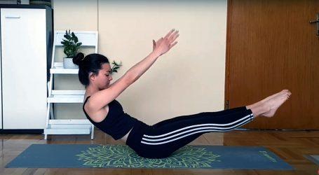 Pogledajte vježbe koje možete izvoditi dok ležite na plaži