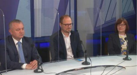 """Ministar Horvat: """"Nismo spori u donošenju odluka o obnovi"""". Kordić: """"Samo jedan posto zgrada je dobilo odluku Ministarstva"""""""