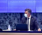 """Plenković sa sjednice Vlade: """"Nastavi li se trend, nećemo ostvariti 50 posto cijepljenih do 30. lipnja. Nemojte oklijevati, Hrvatska je turistička zemlja"""""""