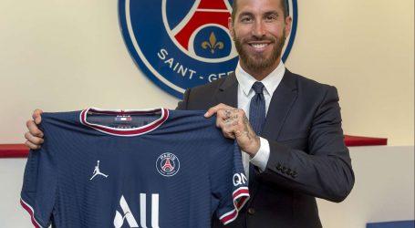Sergio Ramos predstavljen kao novi igrač Paris Saint-Germaina