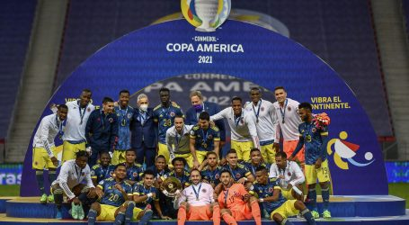 Kolumbija golom Luisa Diaza u četvrtoj minuti nadoknade do trećeg mjesta Copa Americe